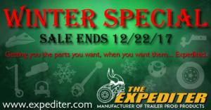 The Expediter Winter Specials